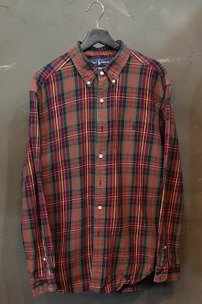 Polo by Ralph Lauren-Flannel (XL)