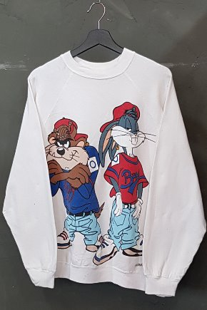 80's-90's Tultex - Bugs Bunny x Taz - Made in U.S.A. (XL)