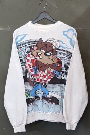 90's Looney Tunes - Taz - Made in U.S.A. (XL)