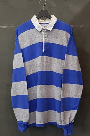 80's Lands' End - Rugby - Made in U.S.A. (XL)